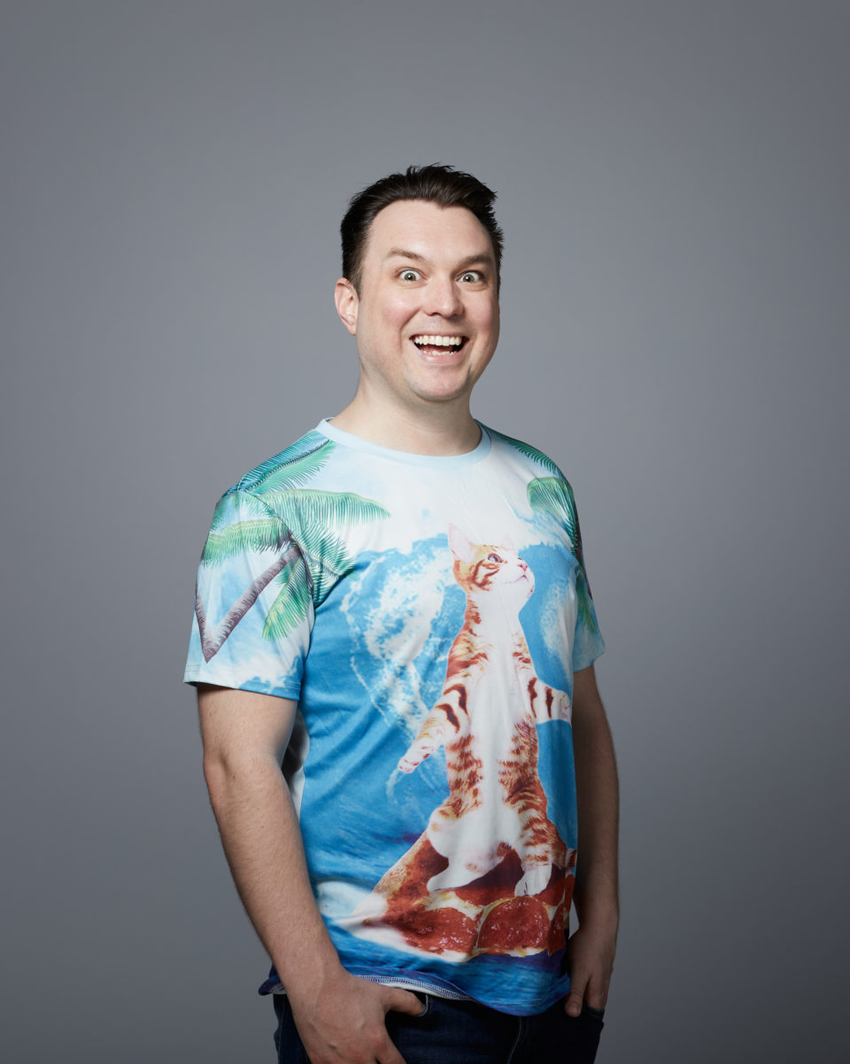 Ben norman cat shirt